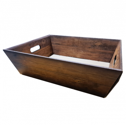 Karton houtlook